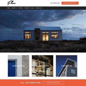 Builder website example 1