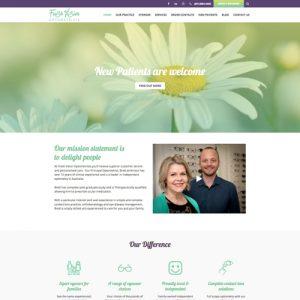 Freshvision optometrists - websites for optometrists