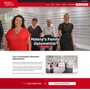 Maleny optometrists - websites for optometrists